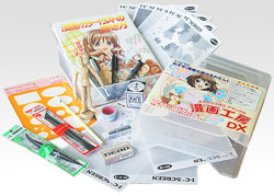 We select out of a manga painting materials of reliable Japanese products